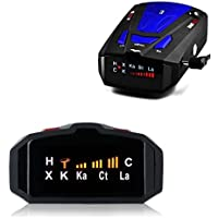 Radar Detector, Voice Alert and Car Speed Alarm System with 360 Degree Detection, Radar Detectors for Cars (Blue)