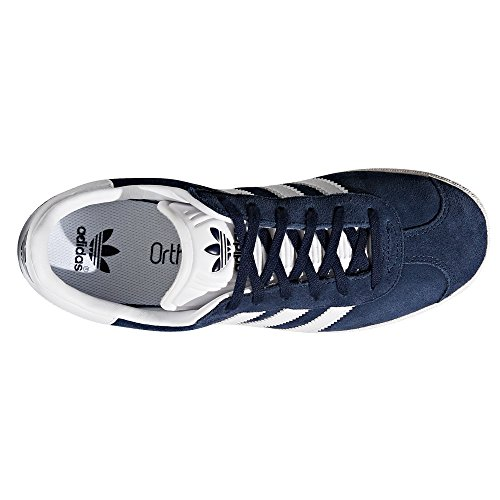 Chaussures White Noir Adidas Bleu Baskets top Gazelle ftwr Navy Low Sneaker Femme Rose 7xCwxFq5