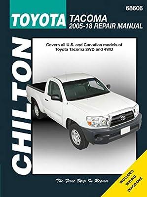 Parts & Accessories 2005-2018 Toyota Tacoma Haynes Repair Manual ...