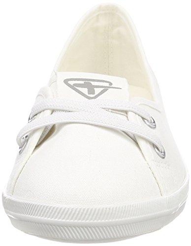 Tamaris Femme 23688 Blanc white Mocassins 7zwrCqZ8x7
