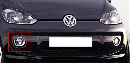 VW Up Front Right Fog Light Surround  Ring Trim  1S0853400A2ZZ NEW GENUINE
