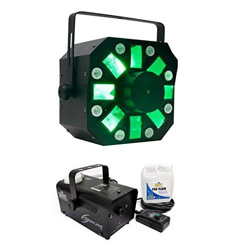 American DJ Stinger DMX LED Light Effect w/ Chauvet Hurricane H700 Fog Machine by American DJ