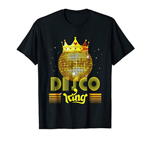 Disco King 1970s Vintage 70s Dance Party Gift T-Shirt -