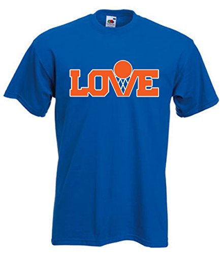 "Silo Shirts BLUE Kevin Love Cleveland ""LOGO"" T-Shirt ADULT"