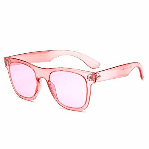 Arroz delgadas sol moda de uñas de gafas sol transparentes gafas Retro señora de de K gafas Aoligei sol hombres dOfwad
