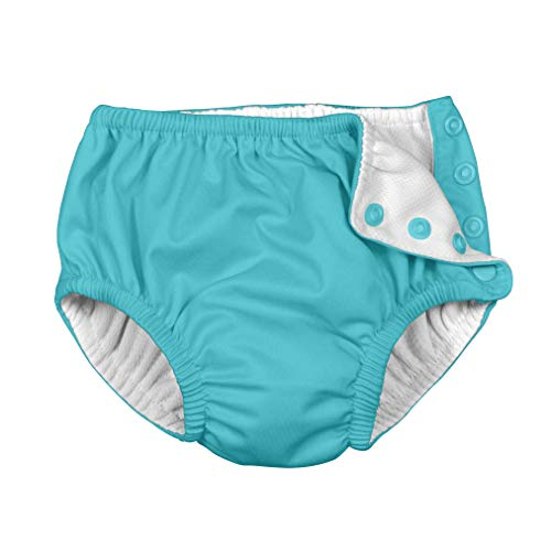 i play. by green sprouts Clothing, Shoes & Jewelry Toddler Swim Diaper, Aqua, 4T from i play. by green sprouts