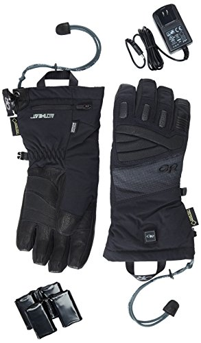 Outdoor Research Lucent Heated Gloves, Black, Large by Outdoor Research