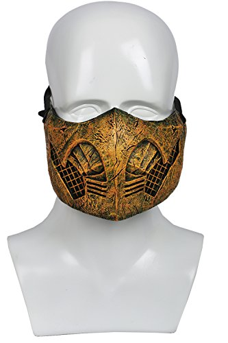 Xcoser MK X Scorpion Mask Costume Accessories for Halloween Resin -