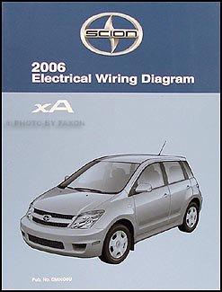 2006 scion xa wiring diagram manual original scion amazon com books rh amazon com  scion xa radio wiring diagram