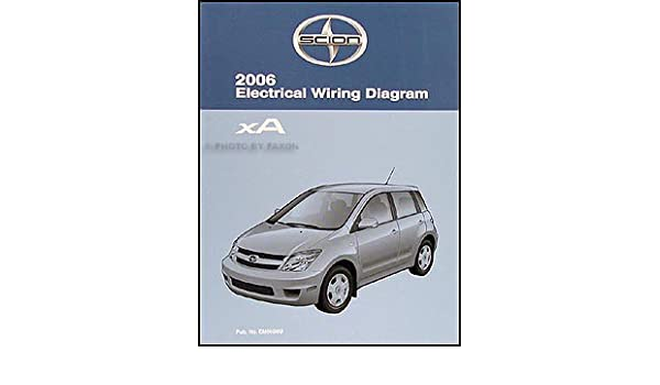 2006 scion xa wiring diagram manual original scion amazon com books 2004 scion xa radio wiring diagram scion xa wiring diagram #3