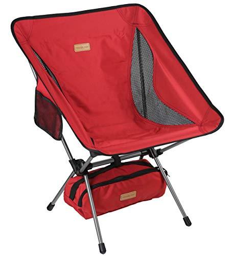 Trekology YIZI GO Portable Camping Chair - Compact Ultralight Folding Backpacking Chairs