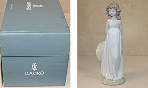 Lladro Figurine 8114, Natural Beauty (Girl with Hat)