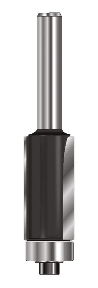 ENT 13582 Bü ndigfrä ser HW (HM), Schaft (C) 8 mm, Durchmesser (A) 12,7 mm, B 12,7 mm, D 32 mm, GL 55 mm, mit Kugellager ENT European Norm Tools