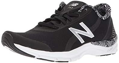 New Balance Women's 711v3 Cush + Cross-Trainer-Shoes, Black, 10 D US