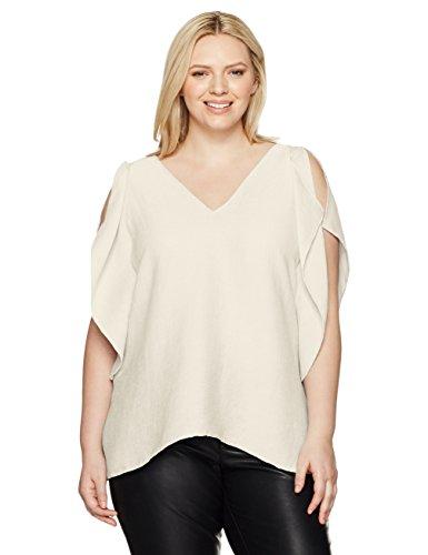 RACHEL-Rachel-Roy-Womens-Plus-Size-Flutter-Drape-Top