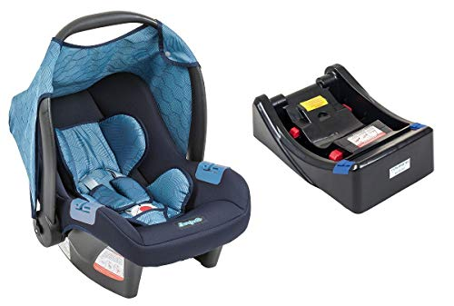 Bebê Conforto Touring Evolution SE, Base Burigotto Geo Azul