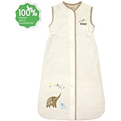 Unisex Baby Sleeping Bag - 100% Cotton Wearable Blanket