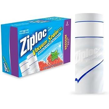 Amazon Com Ziploc 2 Rolls Vacuum Sealer 8 Quot X 20 Feet
