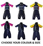 Indigo Surf Infant Kids Childs Indigo Shorty Wetsuit