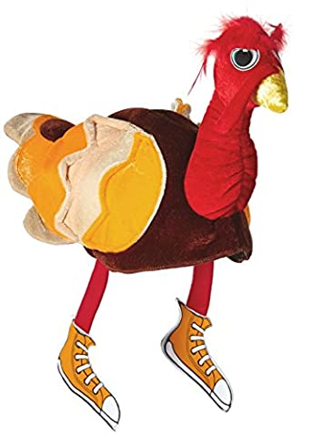 Thanksgiving Chapeaux Pour Adultes - Rasta Imposta Turkey Hat, Multi, One