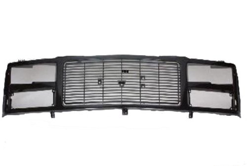 GMC Pick Up Truck Grille - Black / Gray  - Gmc Truck Grilles Shopping Results