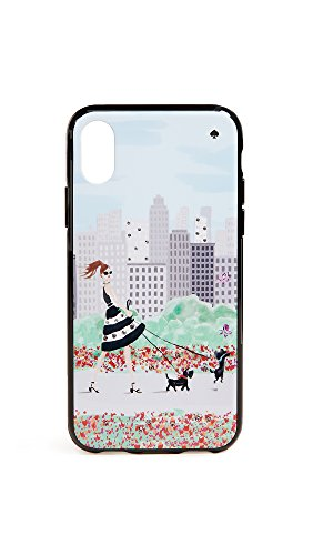 Kate Spade New York Jeweled Shopper iPhone X Case, Multi, iPhone (Jeweled Shopper)