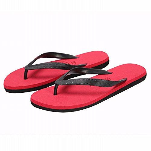scivolare B scarpe sandali pantofole RBB infradito Estate uomini spiaggia tendenza spiaggia gamba da fonte moda HH6U0A