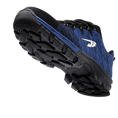 Safety Toe 2 Shoes Men's Shoes Optimal Shoes Blue Work Steel 5FYzzq