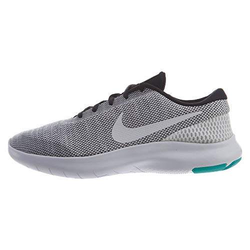 promo code a39d4 c6d48 Nike Womens WMNS Flex Experience RN 7 Black White Hyper Jade Size 6.5