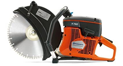 husqvarna construction products 966433401 k 760 14 inch cut off saw rh amazon com Husqvarna K760 Presentation Husqvarna K760 Troubleshooting