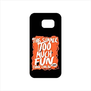 Fmstyles - Samsung S7 Mobile Case - This Summer Too Much Fun
