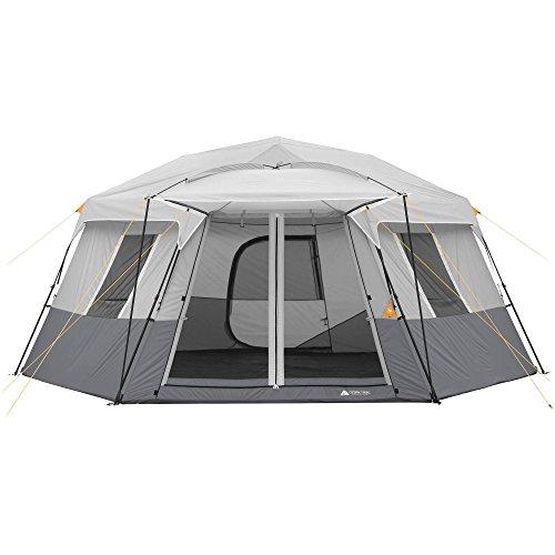 Ozark Trail 17 x 15 Person Instant Hexagon Cabin Tent, Sleeps 11