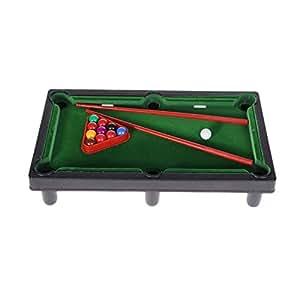 SODIAL Mini Desktop Billiards Toy Outdoor Games Mini Tabletop Whole Family Pool Set Parent-Child Interaction Kids Toy