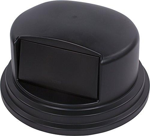 Carlisle 34105703 Bronco Polyethylene Dome Lid, 27-1/4 x 14-