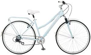 Schwinn Women's Network 7 Speed Bicycle (Sky Blue)