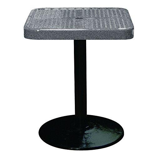 Leisure Craft SQ24TAB30-Granite Pedestal Table, 24