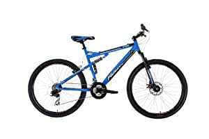 Falcon Atom - Bicicleta de montaña para hombre, talla L (173-182 cm), color azul