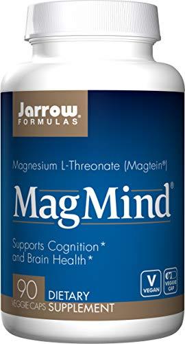 Jarrow Formulas Magmind, Supports Cognition, 90 Veggie Capsules Complex 90 Veggie Caps