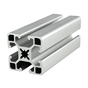 80/20 Inc., 40-4040-UL, 40 Series, 40mm x 40mm Ultra Lite T-Slotted Extrusion x 1220mm by 80/20 Inc.