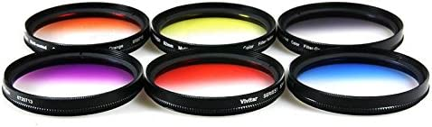 Lens Pen Flash Soft-Light Cover 3pc Cleaning Kit Dust Blower Tulip Lens Hood 58mm Color Filter Kit UV CPL ND