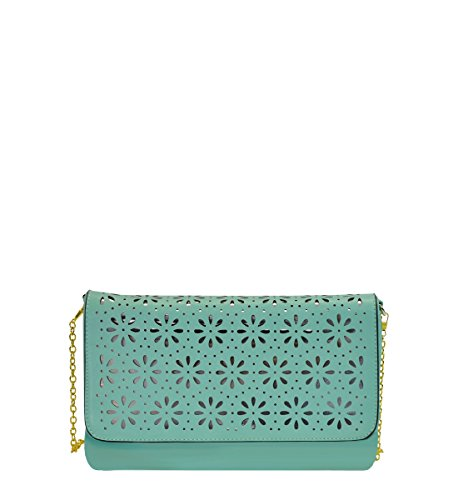Lucitegreen Dazzling Setting Evening Cut MoDA Clutches Off Design Colors Trend with in BwCq5dP