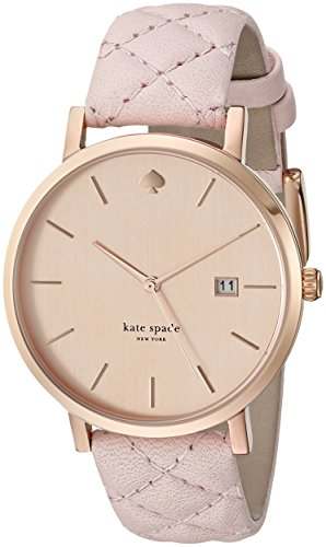 kate spade new york Womens 1YRU0845 Metro Grand Analog Display Japanese Quartz Pink Watch