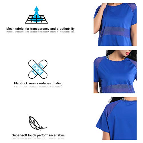 Courtes Ample Avec À Maille Femme Amztrendy shirt Manches T Coupe Faw0nHxgq