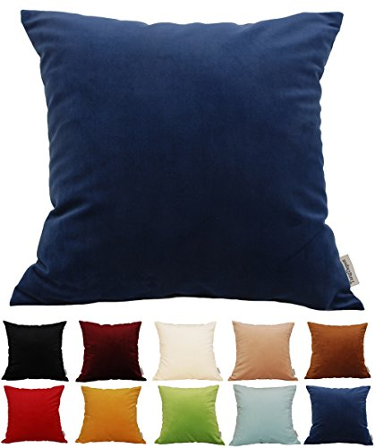 TangDepot Velvet Pillow Cushion options product image