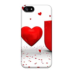 Hot Tpu Cover Case For Iphone/ 5/5s Case Cover Skin - I Love You