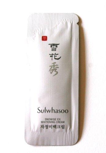 30X Sulwhasoo Образец Сноуайз отбеливающая крем 1 мл. Супер экономичная, чем нормальный размер