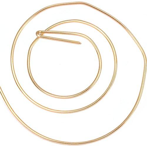 14k Gold Filled Round Wire Half Hard 20 Gauge 5-feet
