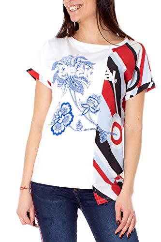 T Ts Desigual Brandall donna shirt da bianca 19swtkcj rqrpZE