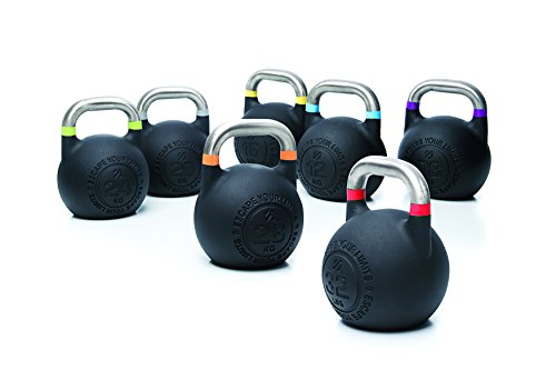 Escape Fitness USA CKB16 Competition Pro Kettlebell, Yellow, 16 kg/35 lb