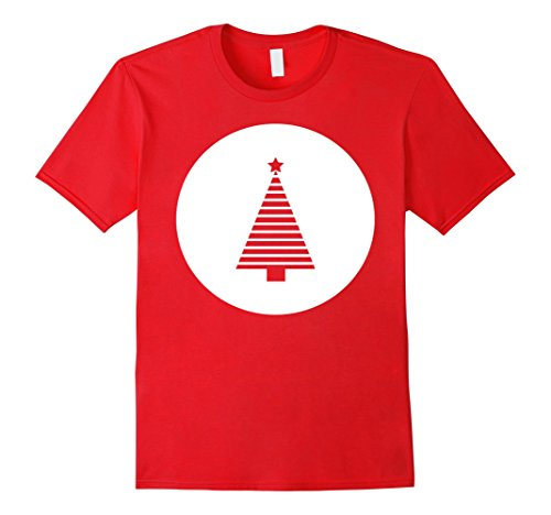 Mens CHRISTMAS XMAS TREE T-SHIRT HOLIDAY GIFT & FAMILY OUTFIT Large (Mens Xmas Outfits)
